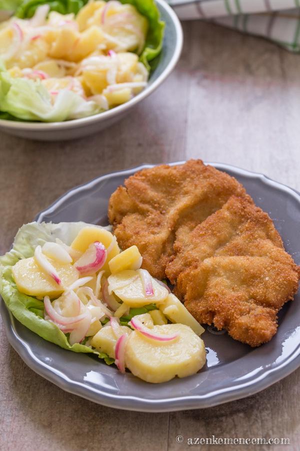 Wiener schnitzel ( bécsi szelet ) - vasárnapi ebédek kötelező fogása