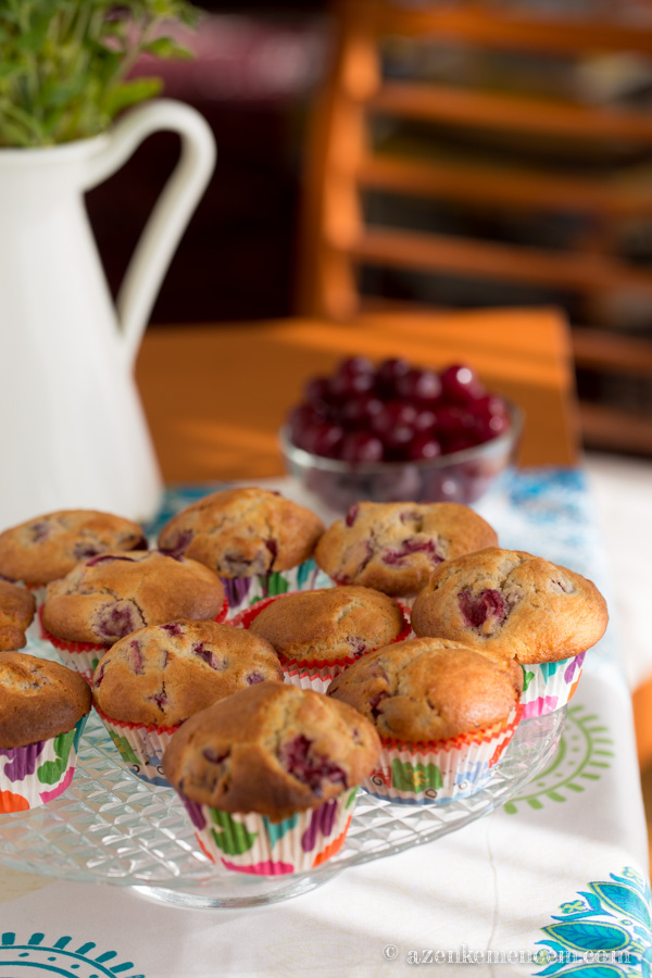 Meggyes muffin - a család kedvence