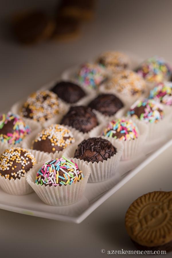 Pilóta keksz golyók - az adventi sütivásárra