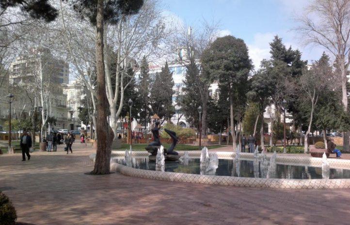 حديقة خاقاني Kaghani park