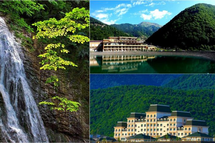 Day trip from Baku to Gabala city private