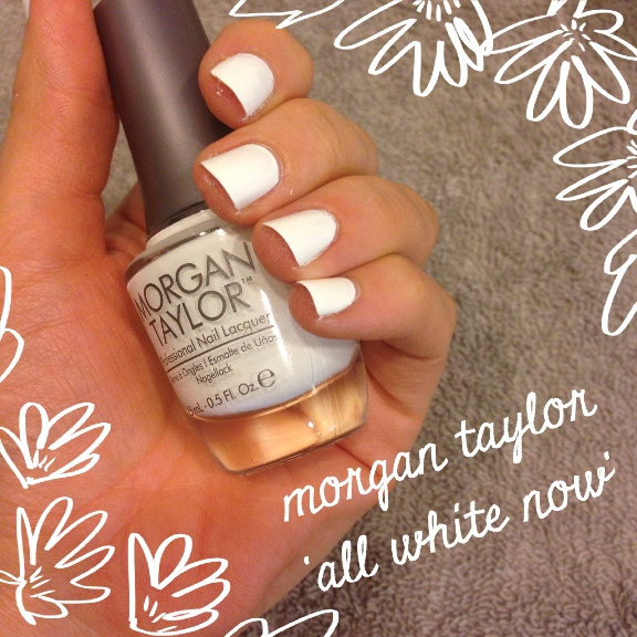 Morgan Taylor - All White Now