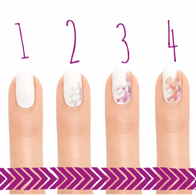ESSIE finger nails numbered