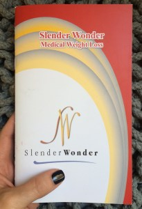 Slender Wonder booklet