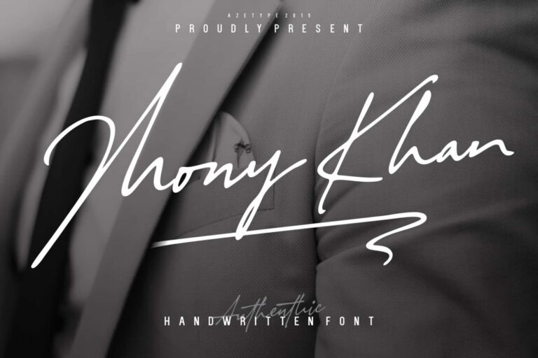 Preview image of Authentic Handwritten