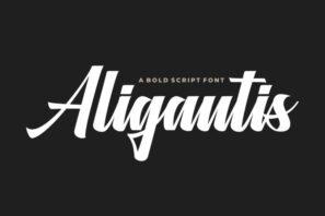 Aligantis Bold Script