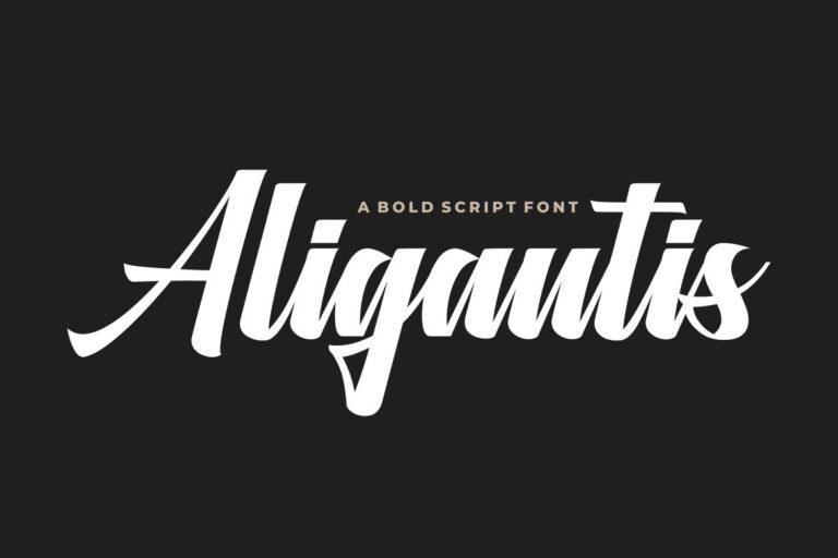 Preview image of Aligantis Bold Script