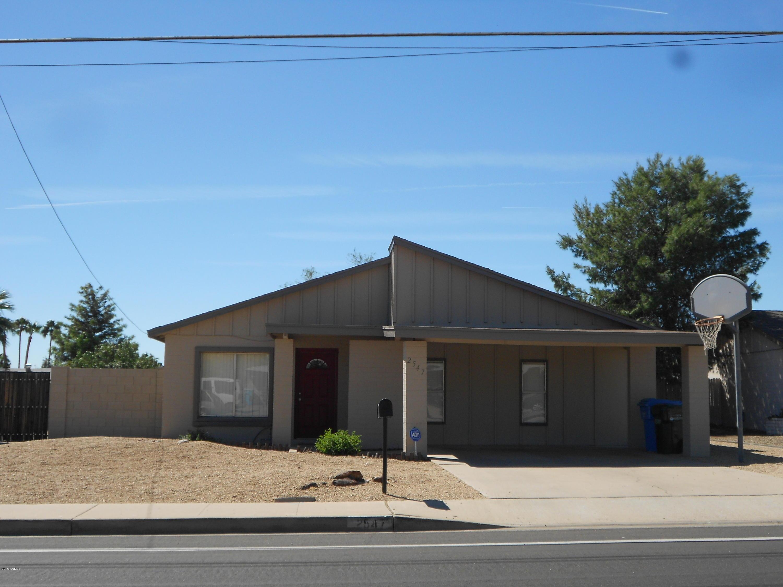 2547 E Sweetwater  Avenue  Phoenix AZ 85032