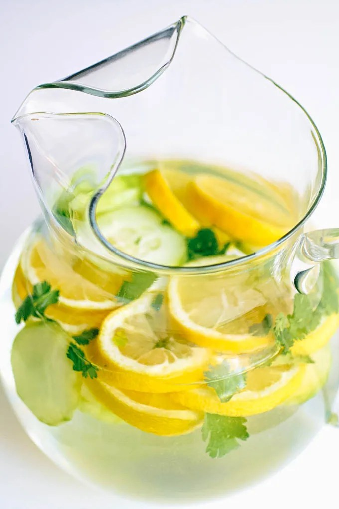 Strawberry Lemon Infused Water Recipe | A Detox Water Recipe