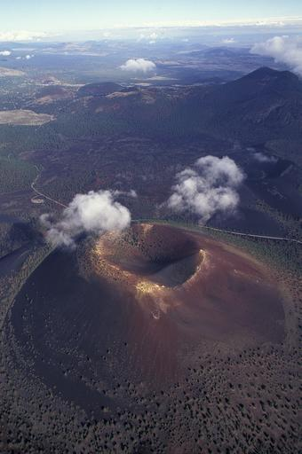 Volcanoes Cinder Cone Shield Compositestrato And Lava Domes