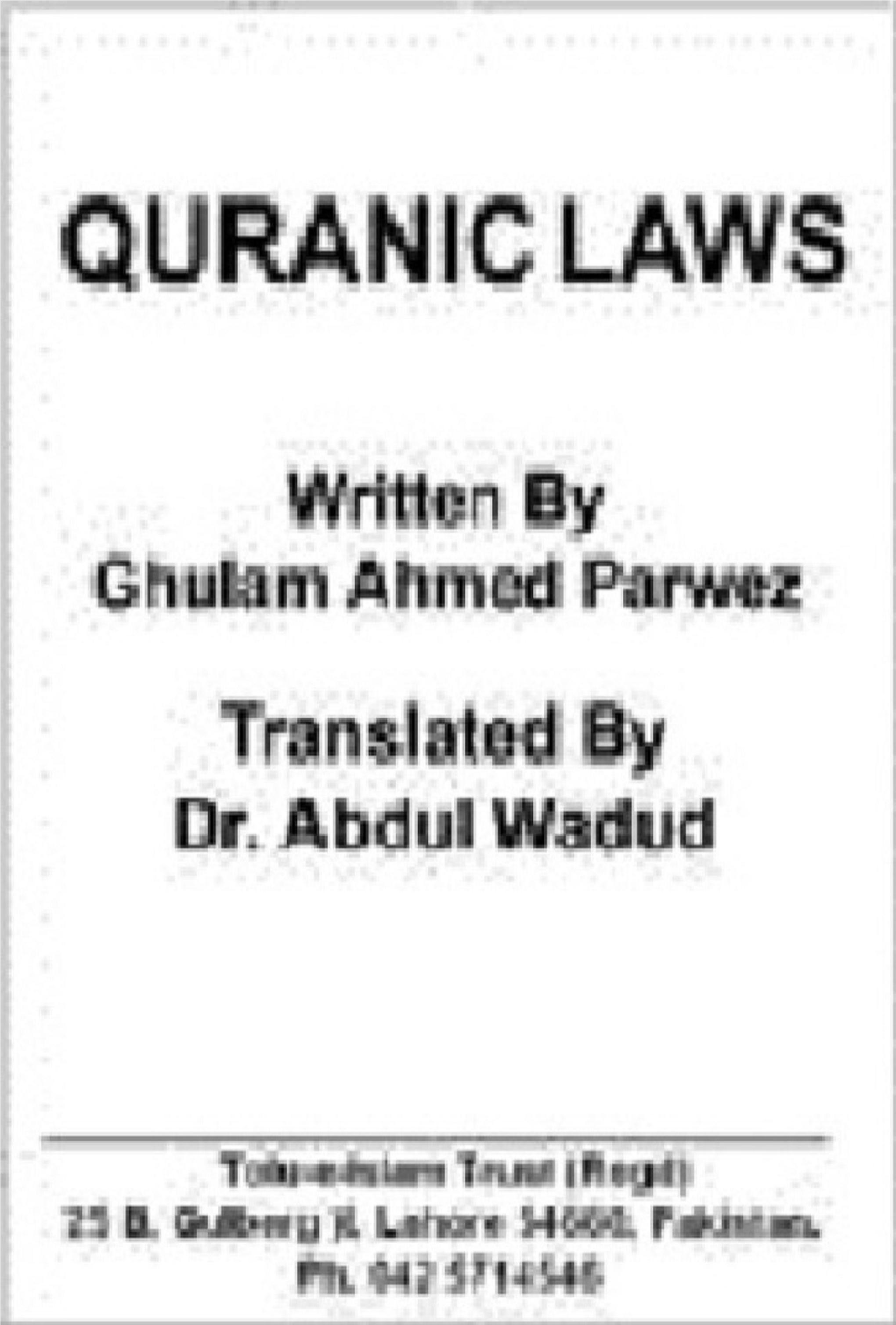 Quranic-Laws