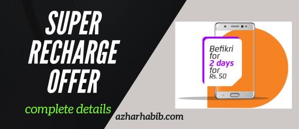 Super Recharge Offer