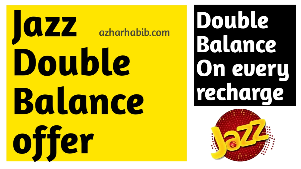 jazz double balance offer 2020