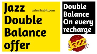jazz double balance offer 2020