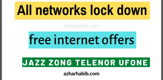 All networks lockdown offers | 40 GB free internet tricks
