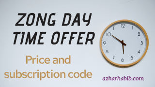 Zong day time offer 2021