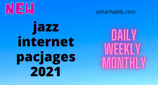 jazz internet pacjages 2021