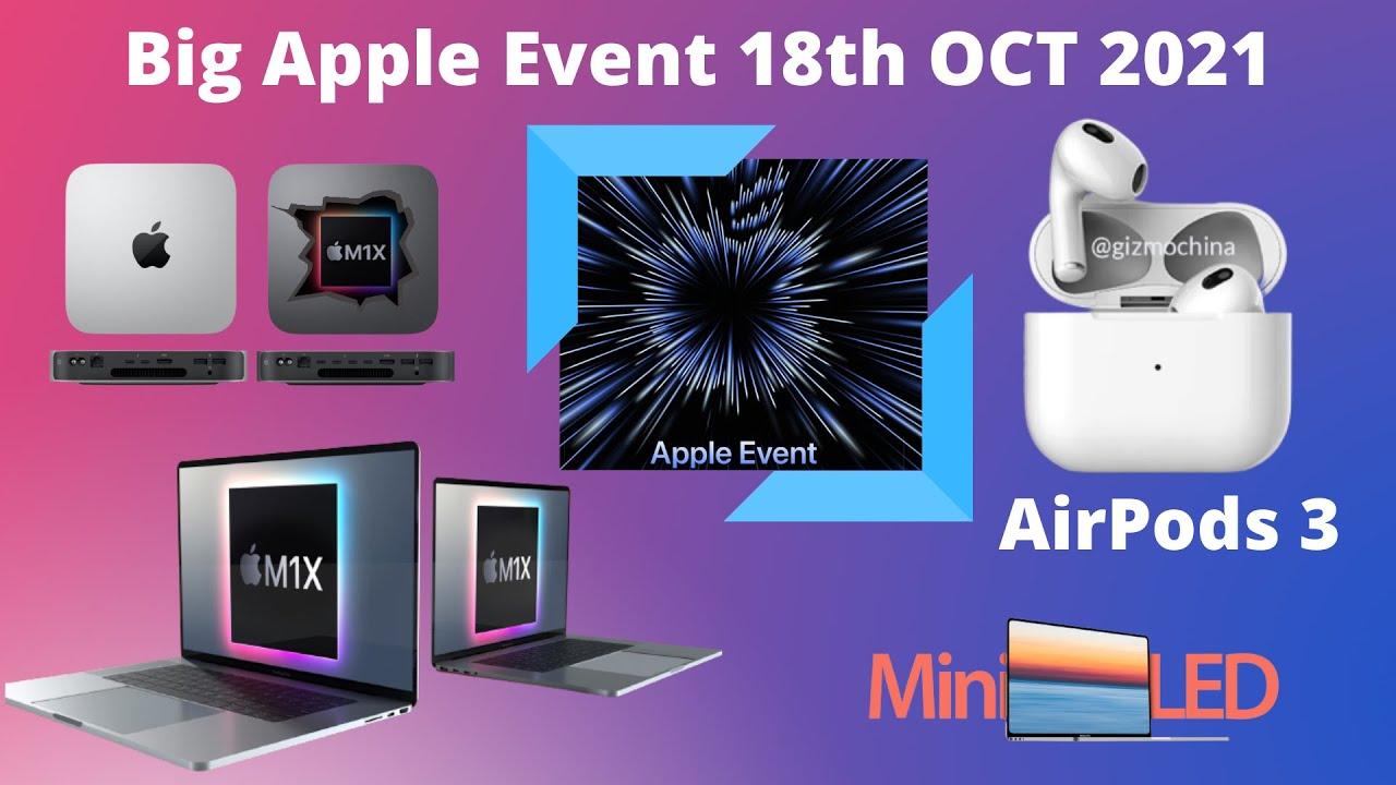 Big Apple Event 18th Oct 2021