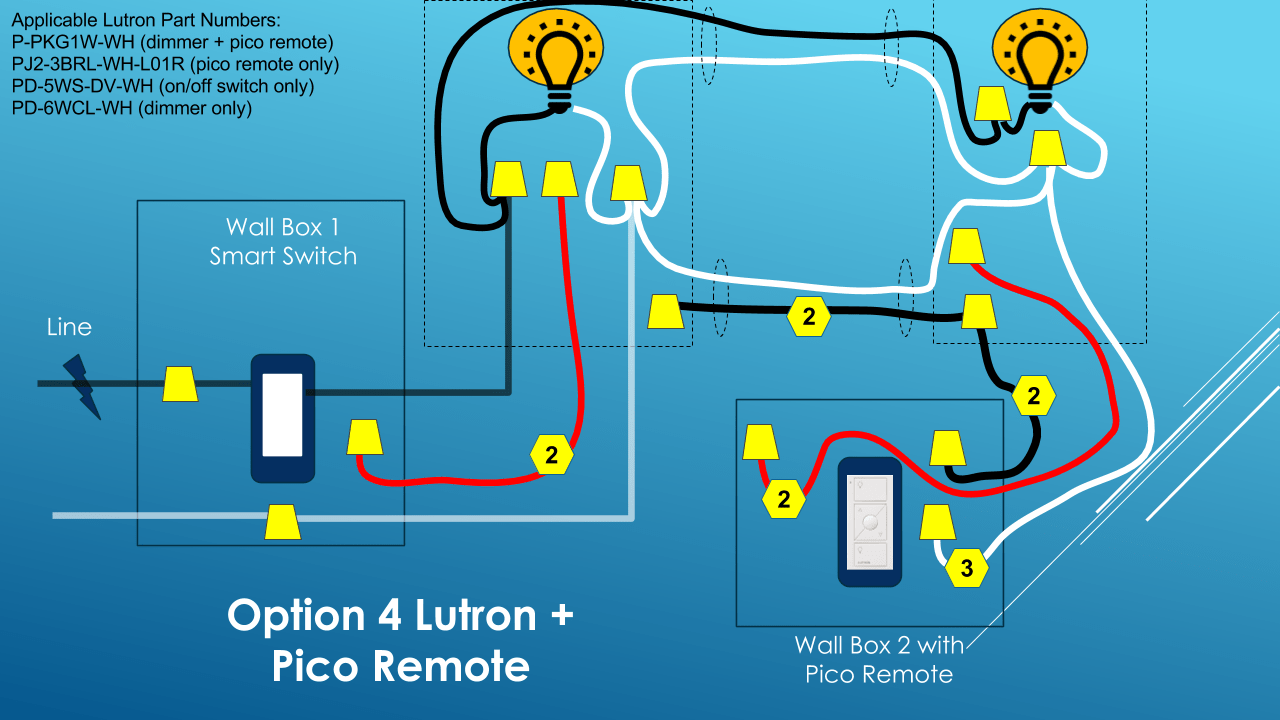 lutron 3 way switch install diy smart home guy lutron 3 way switch diagram lutron 3 way diagram [ 1280 x 720 Pixel ]