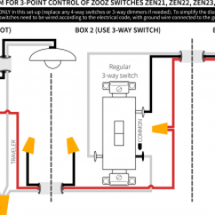 Wiring Diagram For 4 Way Switch Help With Ge Jasco Light Switches Connected Led Dimming Ballast Zooz Four Install Diy Smart Some Guy