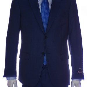 mens suit cobalt blue front