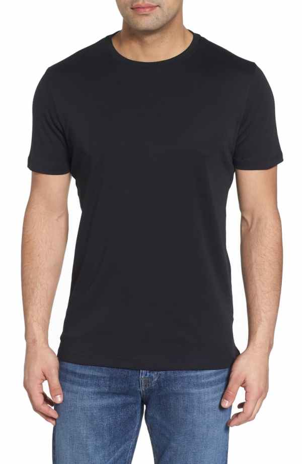 robert barakett georgia crewneck tshirt black