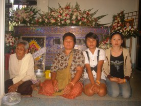 Funeral of Pii RACHAN, brother of Sam 011