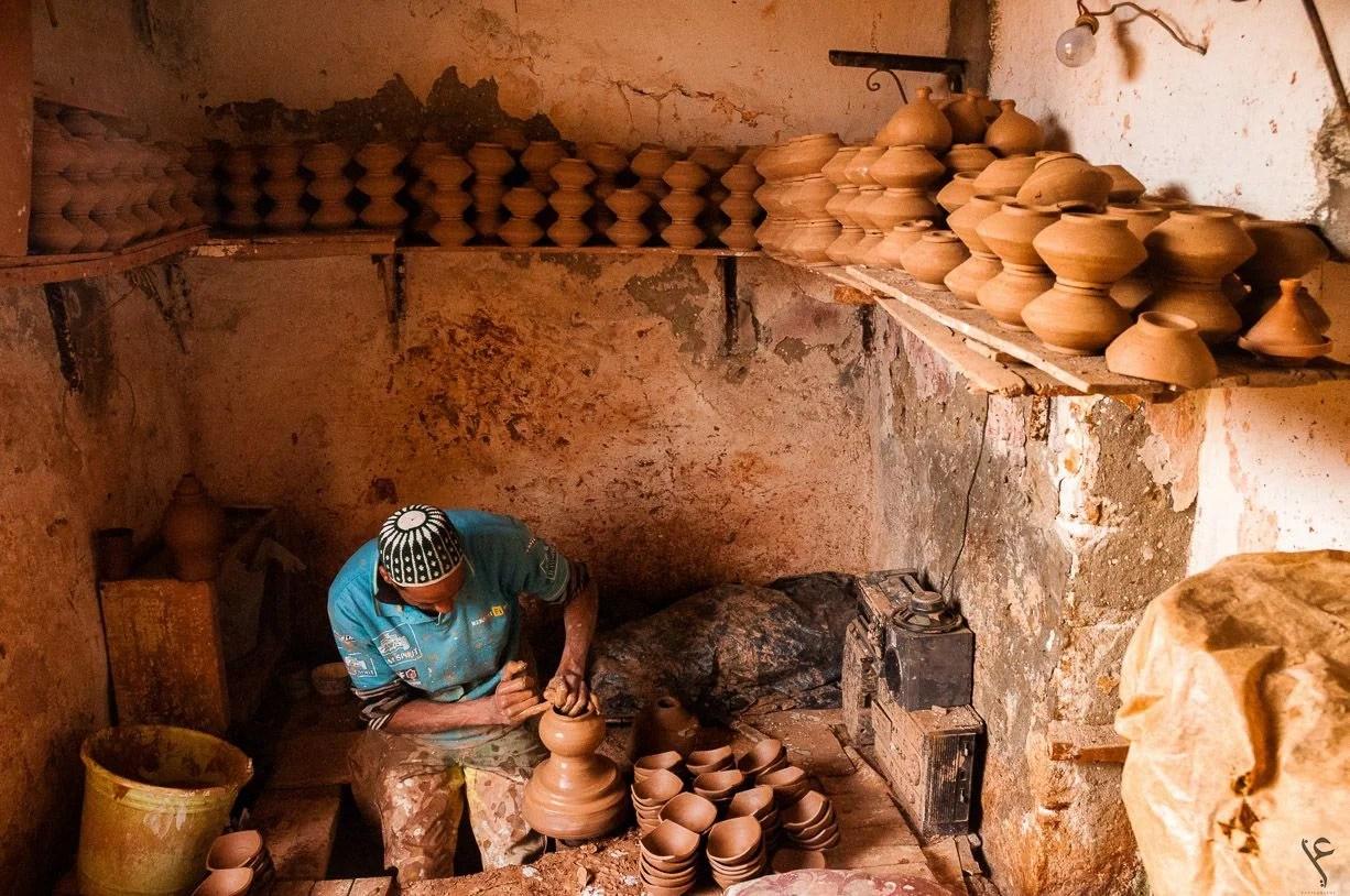 Pottery maker - Assafi