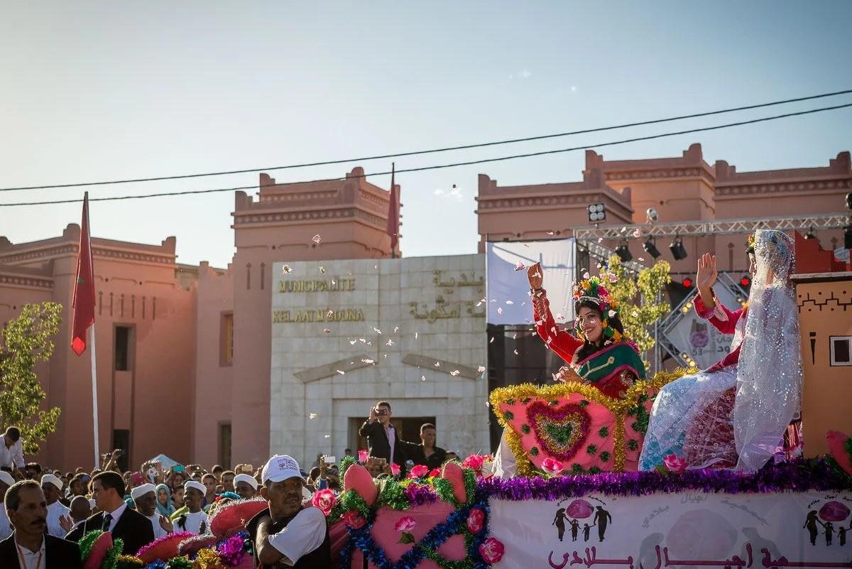 Festival des roses, Morocco