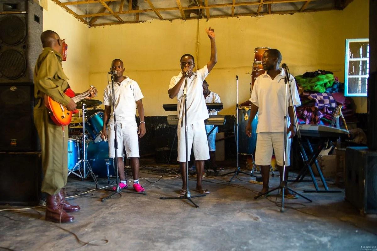 Zomba prison music band project, Malawi by abdellah azizi
