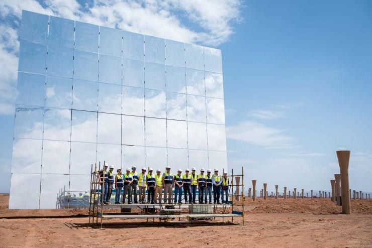 Abunayyan at Ouarzazate Solar Power Station