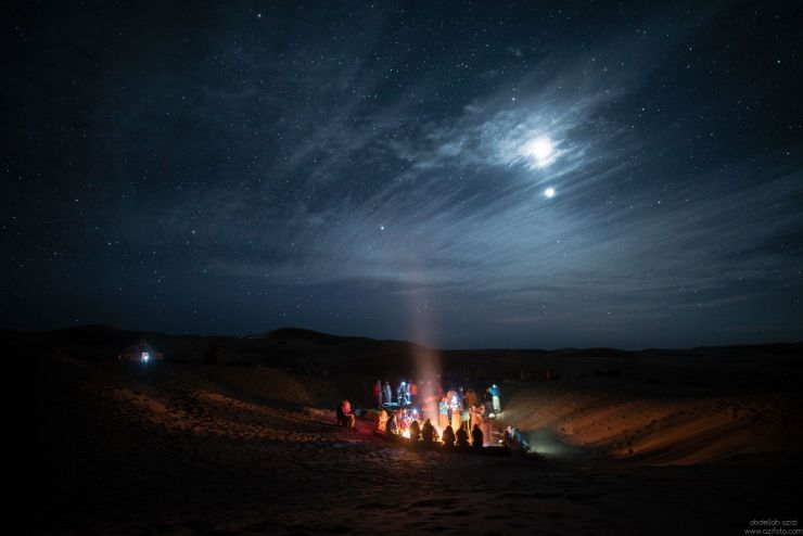 Voyage dans le desert