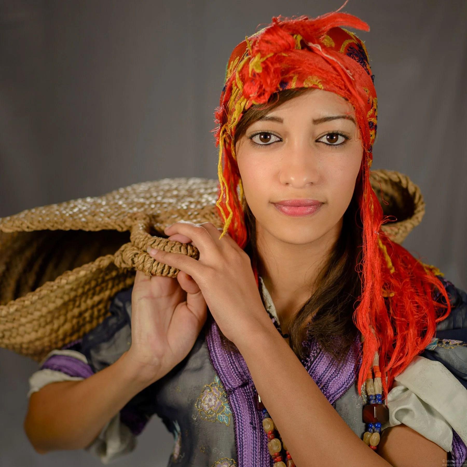 Portrait Amazigh girl