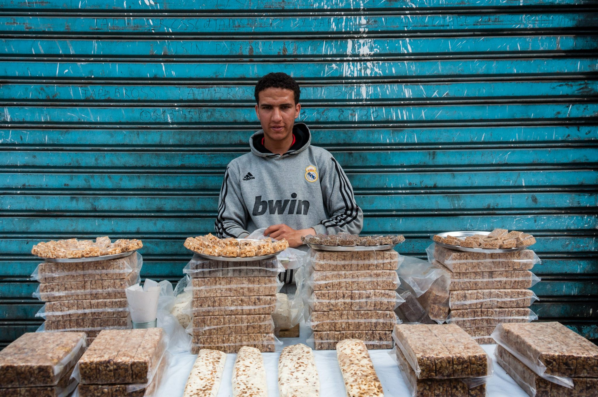How is like to photograph people in Morocco?