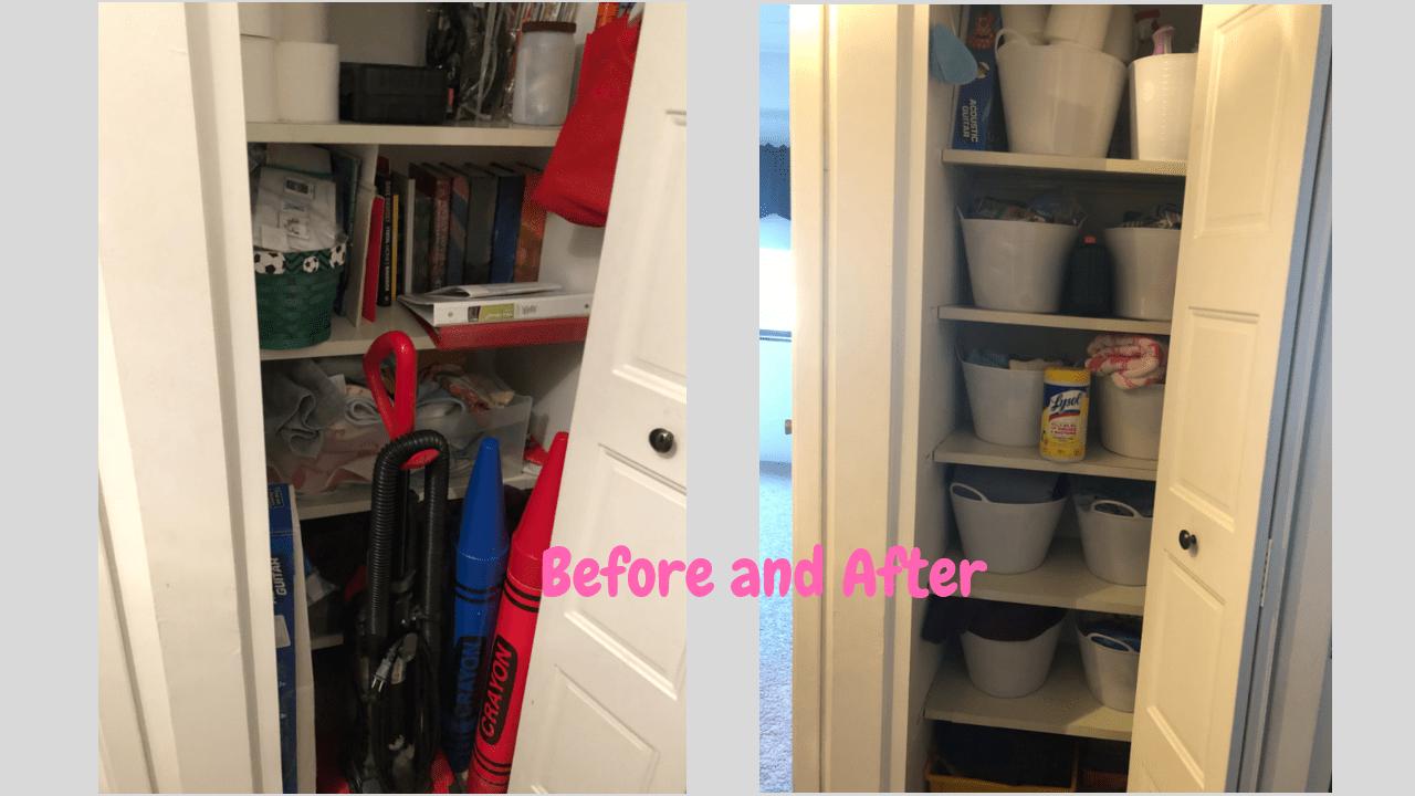 Organize your Linen Closet (Declutter)