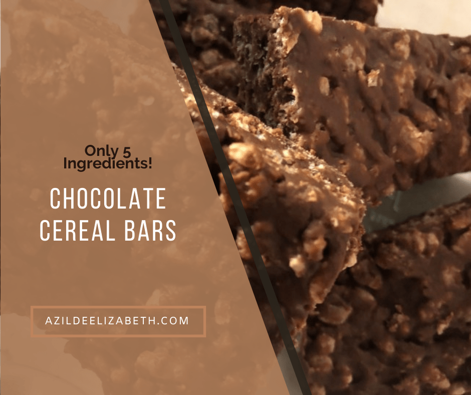 Chocolate Cereal Bars (Only 5 Ingredients!)