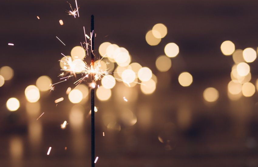new year - fire works
