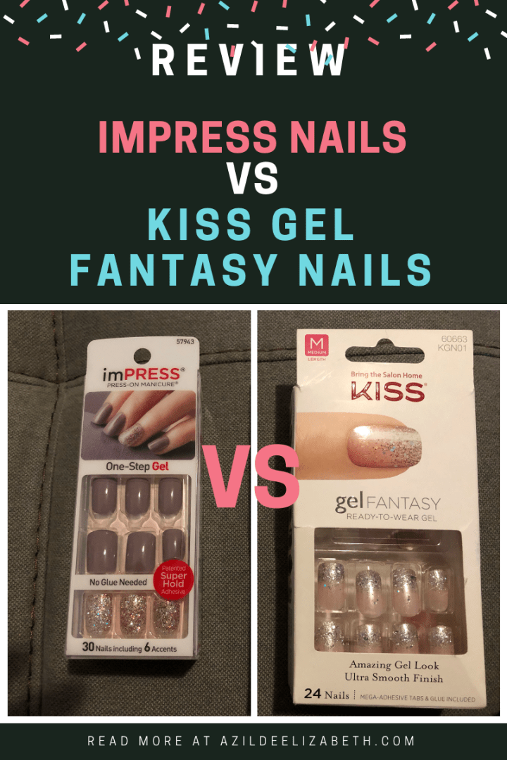 Impress Nails vs Kiss Fantasy Nails Review