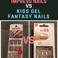 Impress Nails vs Kiss Fantasy Nails Review