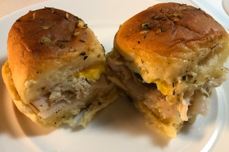 Turkey Cuban Sliders