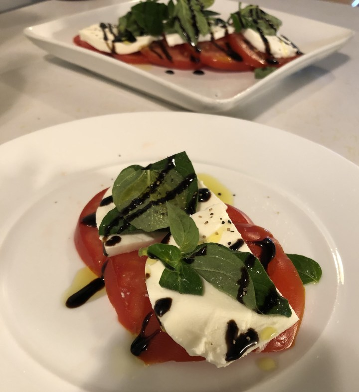 Fresh Oregano Caprese Salad