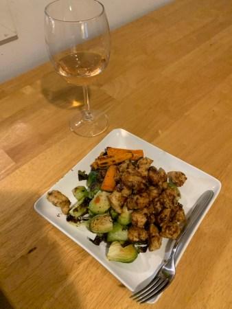 asian chicken vegetables