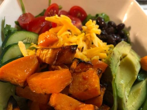 vegetable burrito bowl