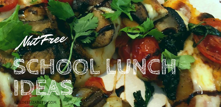 nut free school lunch ideas