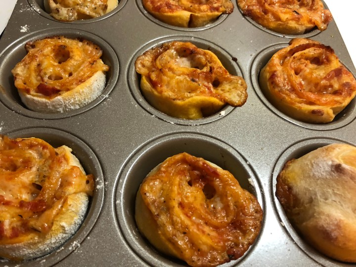 Pizza Muffins for School Lunch