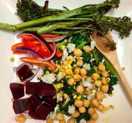Rainbow Roasted Vegetable Salad