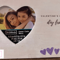 Valentine's DIY Picture Frame (Any Occassion)