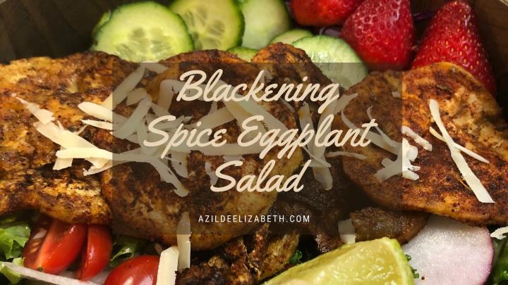 Blackening Spice Eggplant Salad
