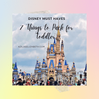 7 Disney Things To Pack For Toddlers (Must Haves)