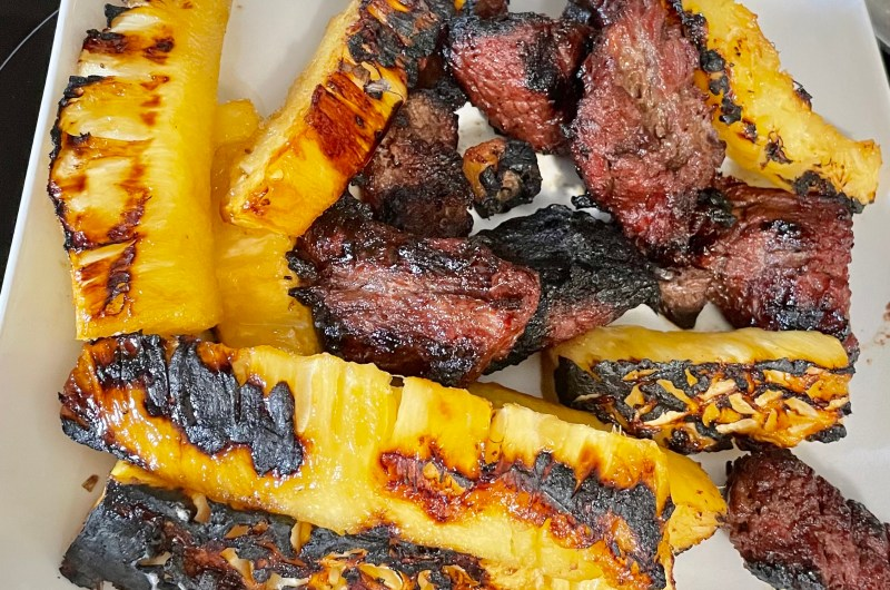 Grill Pineapple in Just 5 Minutes!